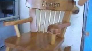 Build a Child's Wooden Rocking Chair