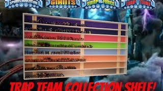 #deathbytrapteamvids - My New Pre-trap Team Collection Shelf! (10-2-14)