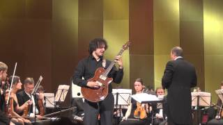 Joaquín Rodrigo, Concierto de Aranjuez D-dur on electric guitar. II - Adagio