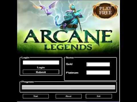 Arcane Legends Gold And Platinum HACK 2016