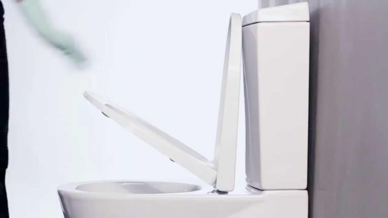 Sanindusa Slowclose Clipoff 174 Toilet Seat Youtube