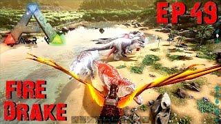 BGZ - ARK: Survival Evolved EP#49 จับมังกรไฟDrake Fire Dragon
