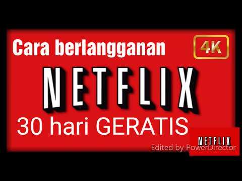 TUTORIAL Cara Mendaftar Netflix Premium 1 Bulan