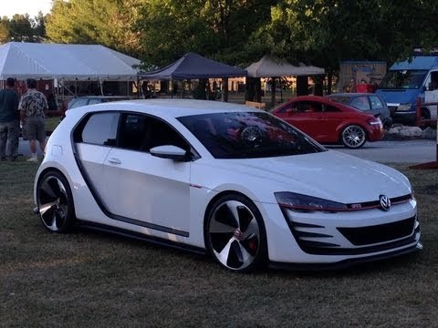 RARE CONCEPT CAR | 2013 H2Oi | VW Volkswagen Design Vision GTI | Ocean City Maryland