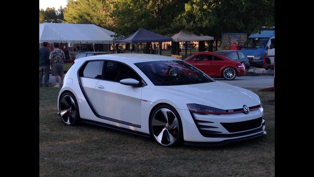 rare concept car  hoi vw volkswagen design vision gti ocean city maryland youtube