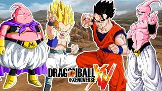 Dragon Ball Xenoverse : GOHAN Y GOTENKS VS MAJIN BUU Y SUPER BUU - La Posesion Por Sorpresa !