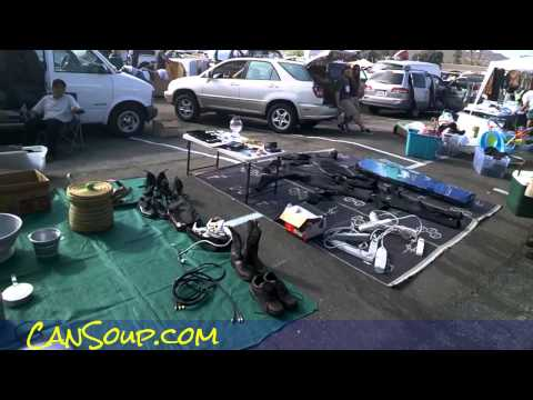 Buying & Selling at Swap Meet Drive-In Bazaar Market Flea Ma