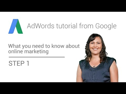 AdWords tutorial from Google – Step 1: What you need to know about online marketing