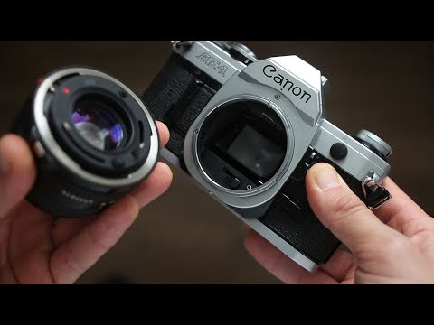 HOW TO ATTACH AND REMOVE CANON FD LENS
