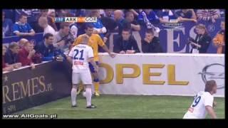 Arka Gdynia - Górnik Zabrze 1-0 ( Burkhard )