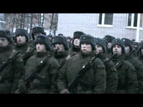 Владимирская обл. г. Ковров в.ч 73864 Присяга 21.01.12.