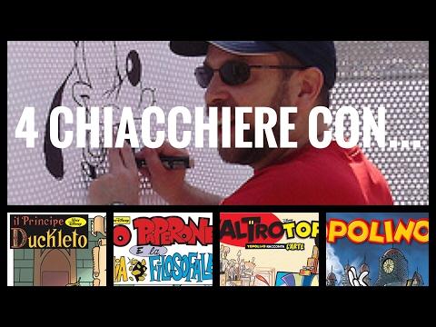 4 CHIACCHIERE CON: PAOLO DE LORENZI -  DISEGNATORE DISNEY - LIVE