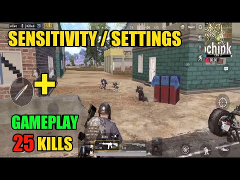 Sensitivity and Gameplay | Solo Vs Squad | PUBG Mobile