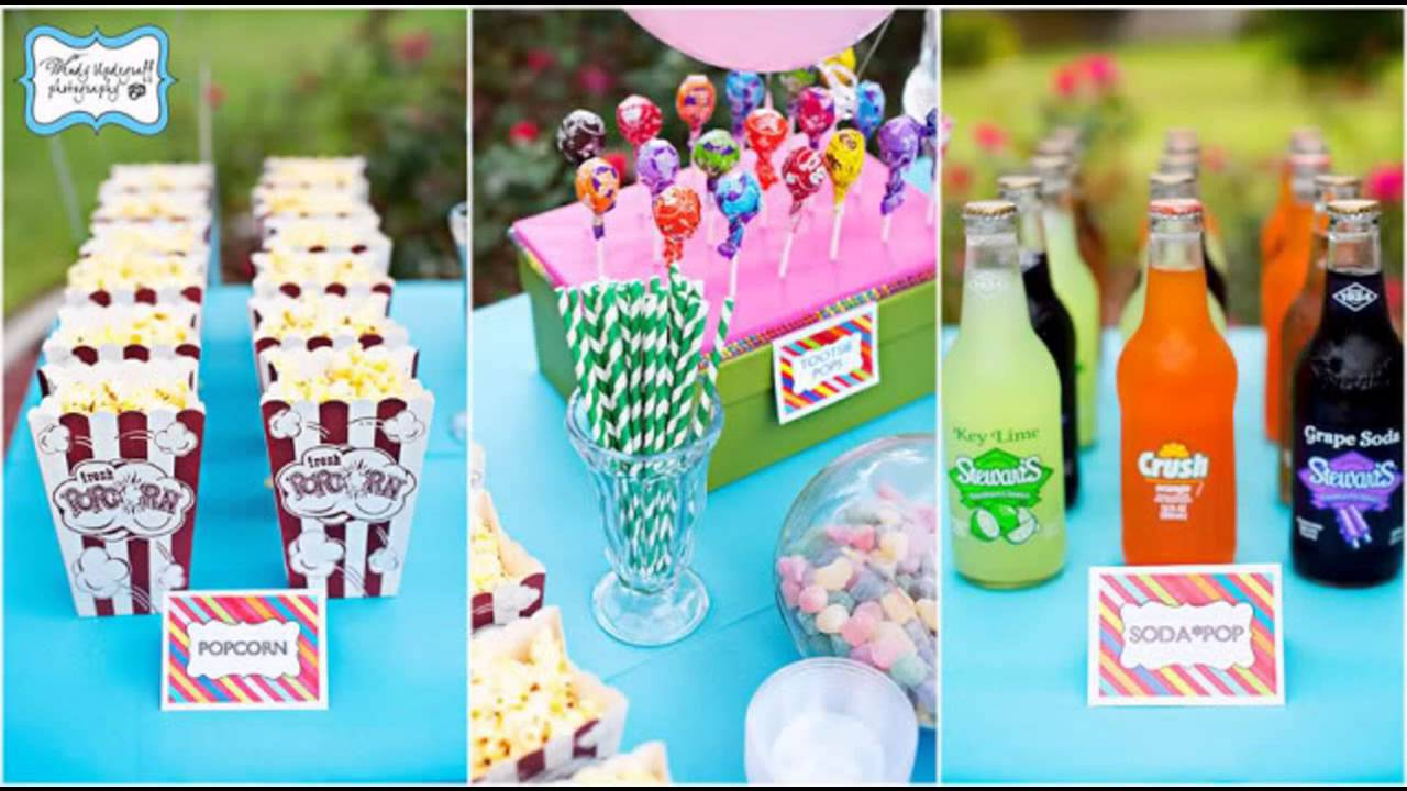 Teen birthday party decoration ideas - YouTube