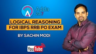 Logical reasoning  for IBPS- RRB PO Exam 2017 Video