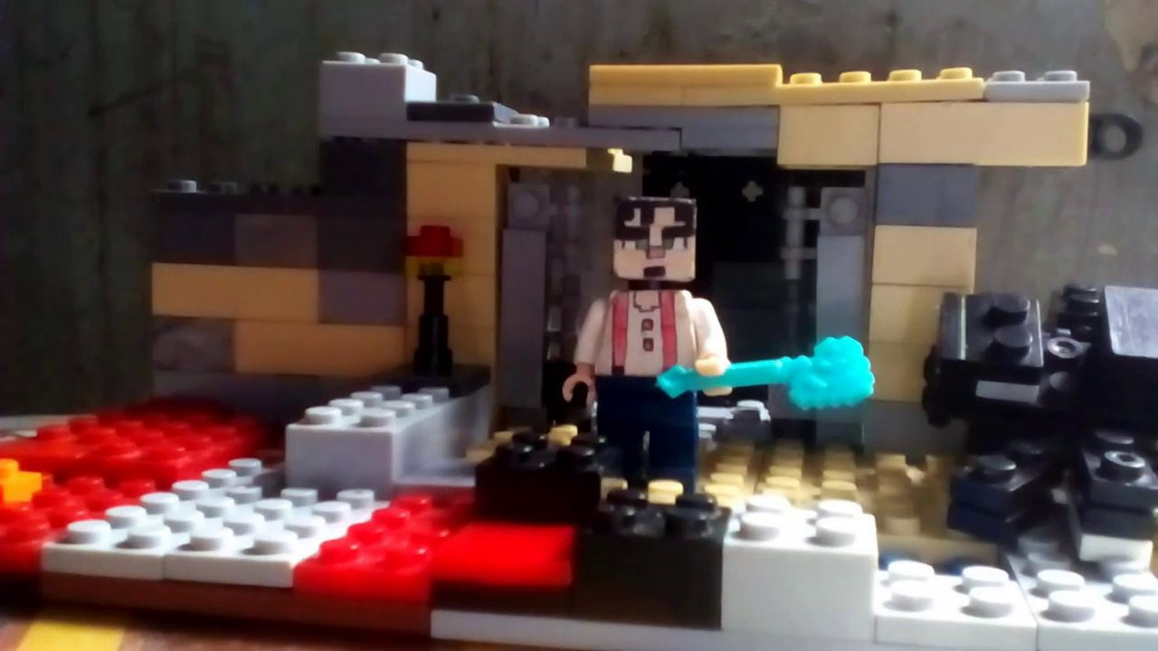 Lego Minecraft Story Mode Jesse And Ironman Vs Ultron And The Wither Boss Youtube