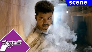 Vijay's Dog Detects Kidnapper's Spot - Stunning Action Scene - Thuppakki Movie Scenes