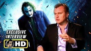 Christopher Nolan Exclusive THE DARK KNIGHT Interview (2008)