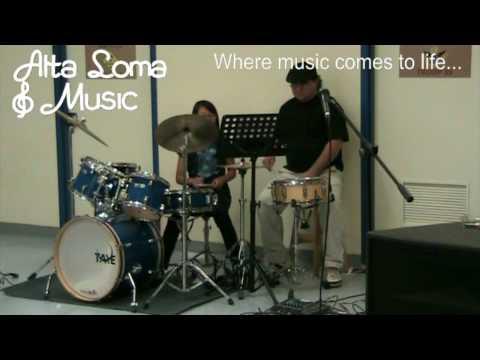 Drum Lessons Corona CA- Alta Loma Music Lesson Drum Showcase