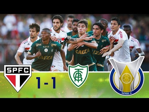 Melhores momentos - São Paulo 1 x 1 América-MG - Campeonato Brasileiro (22/09/2018)