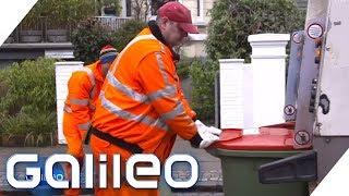 Der harte Job der Müllmänner | Galileo | ProSieben