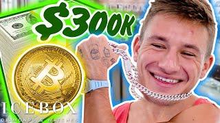 SteveWillDoIt Spends 300K in Bitcoin  CASH on His Friends