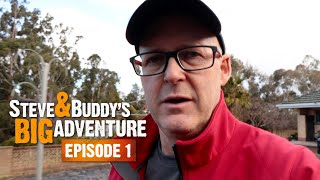 TIME TO HIT THE ROAD (EP1) | Steve & Buddy's Big Adventure