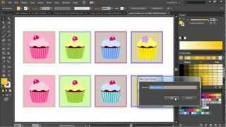Работа с цветом в иллюстраторе