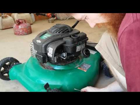 Fix-It Friday: Weedeater 550E Push Mower