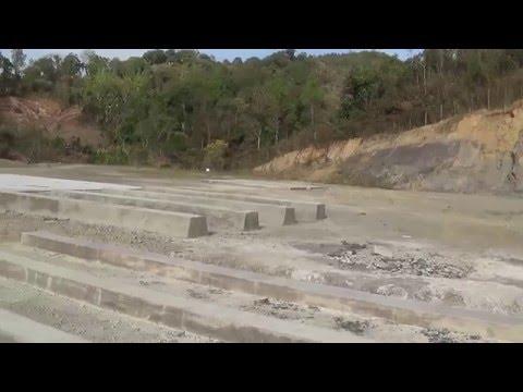 Thenzawl Oil Exploration site