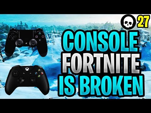 Console/Controller Fortnite Is Broken...Here's Why! (PS4 + Xbox Fortnite Battle Royale) thumbnail