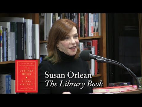 """Susan Orlean, """"The Library Book"""""""