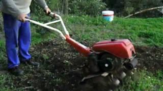Motocultor (4), Arando.