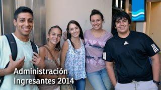 Ingresantes 2014 Facultad de Ciencias de la Administración UNER Concordia