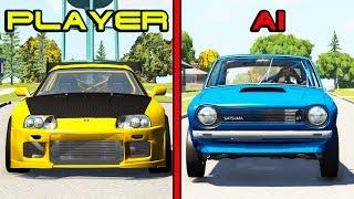 AI vs Players (Cars edition) #2 - Beamng drive