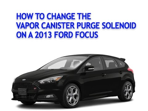 How to change the Vapor Canister Purge Solenoid on a 2013 ...