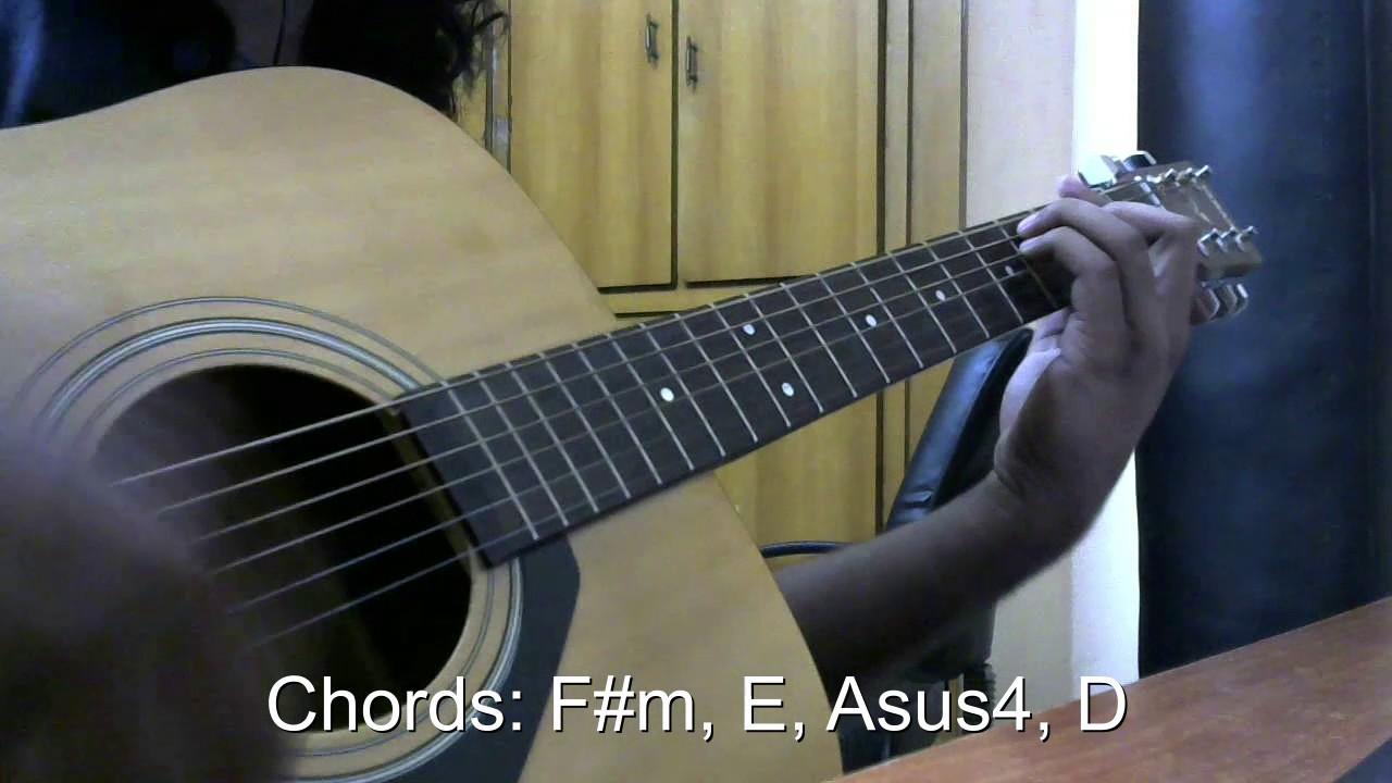 Linkin Park Feat Kiiara Heavy Guitar Covertutorial Youtube