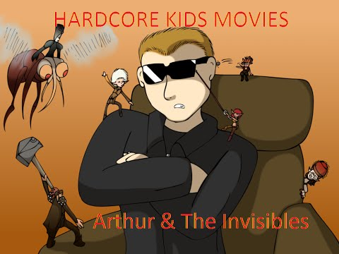 Hardcore Kid: Arthur and the Invisibles Review