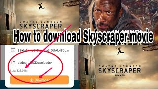How to download skyscraper dual audio 720p movie||hindi dubbed hd quality 1080p by J.A Tutor