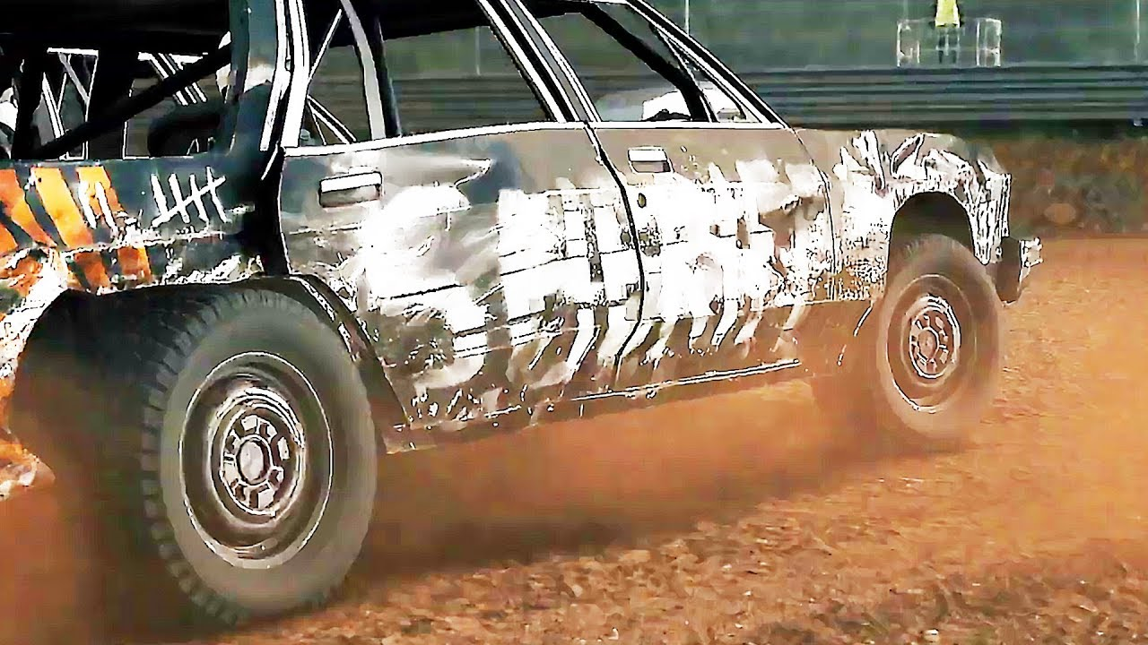 "WRECKFEST ""Der Sheriff"" Teaser (2019) PS4 / Xbox One / PC + video"