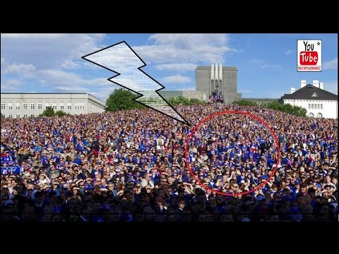 Increíble recibimiento a Islandia tras la EURO 2016 /Awesome welcome to Iceland after the EURO 2016