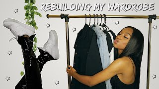 HOW TO REBUILD YΟUR WARDROBE TO FIT A NEW AESTHETIC! | Coco Chinelo