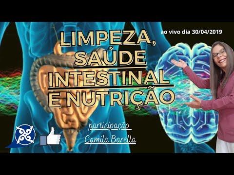 LIMPEZA, SAÚDE INTESTINAL E NUTRIÇÃO - 30 de abril 2019