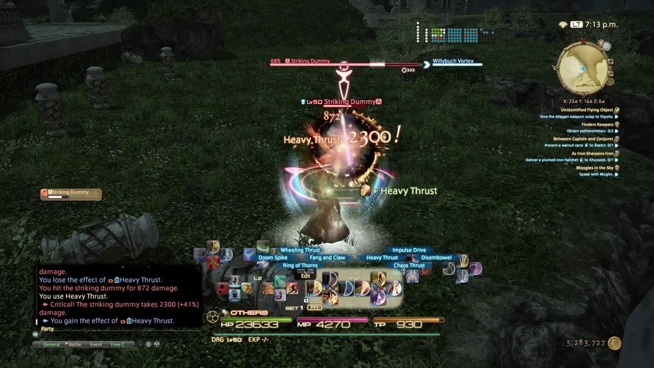 FFXIV DRG rotation and ps4 tips
