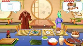 Cake Mania: Main Street - Sumo Sushi Day 1 ~ 4