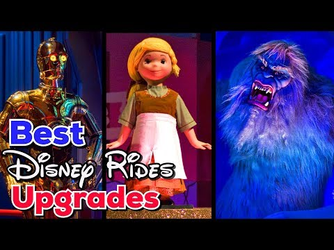 Best Disney Rides Upgrades