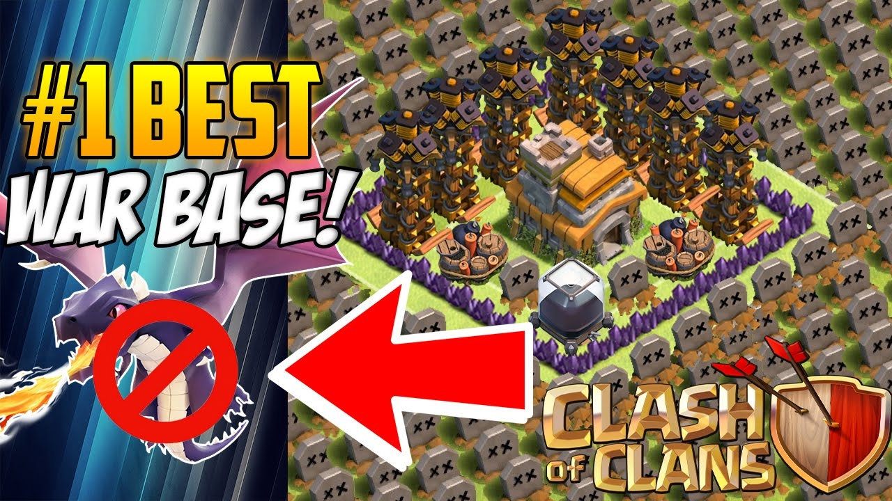 Clash Of Clans Th7 Hybrid Base Without Barbarian King Youtube