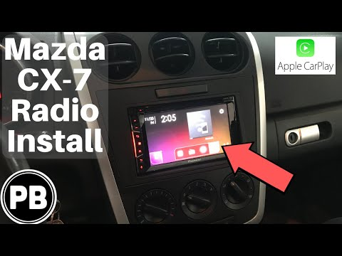 [DIAGRAM_1JK]  2007 - 2012 Mazda CX 7 Radio install | AVH-1400NEX - YouTube | Mazda Cx 7 Radio Wiring Diagram |  | YouTube