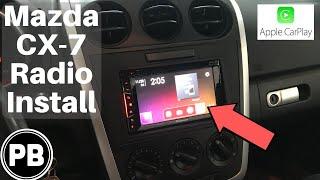 2007 2012 Mazda Cx 7 Radio Install Avh 1400nex Youtube