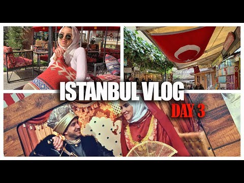 ISTANBUL VLOG: VISITING HOGIA SOPHIA & THE HUNT FOR A SCARF PIN IS REAL! | Amina Chebbi
